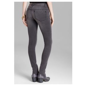 Free People Skinny Jeans Gray 24 Long Stretch